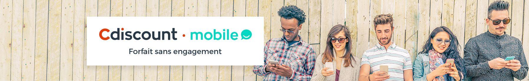 Cdiscount mobile forfait sans engagement
